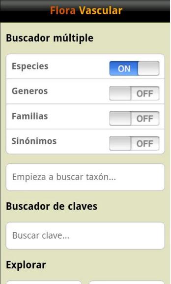 Imagen principal de la app Flora Vascular Móvil