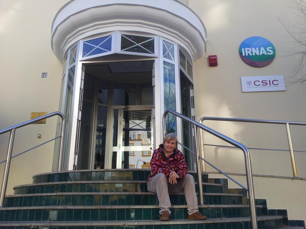 Patricia Siljestrom investigadora del IRNAS CSIC