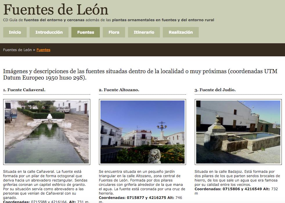 Fuentes de Fuentes de León