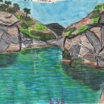 Dibujar en la ruta de los molinos perdidos de Cantillana