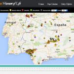 Un mapa registra las muertes de linces ibéricos desde 1980