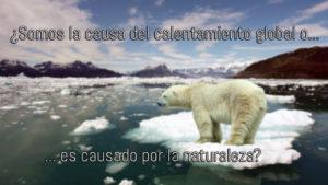 Causa del calentamiento global