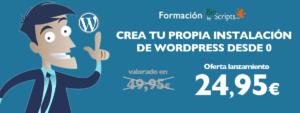 Crea tu instalación de wordpress desde 0