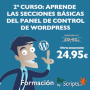 2º curso wordpress