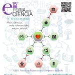 Estaremos en la 15 Feria de la Ciencia de Sevilla