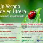 """BioScripts participará en el Ciclo de Actividades Medioambientales """"Un Verano Verde en Utrera""""."""