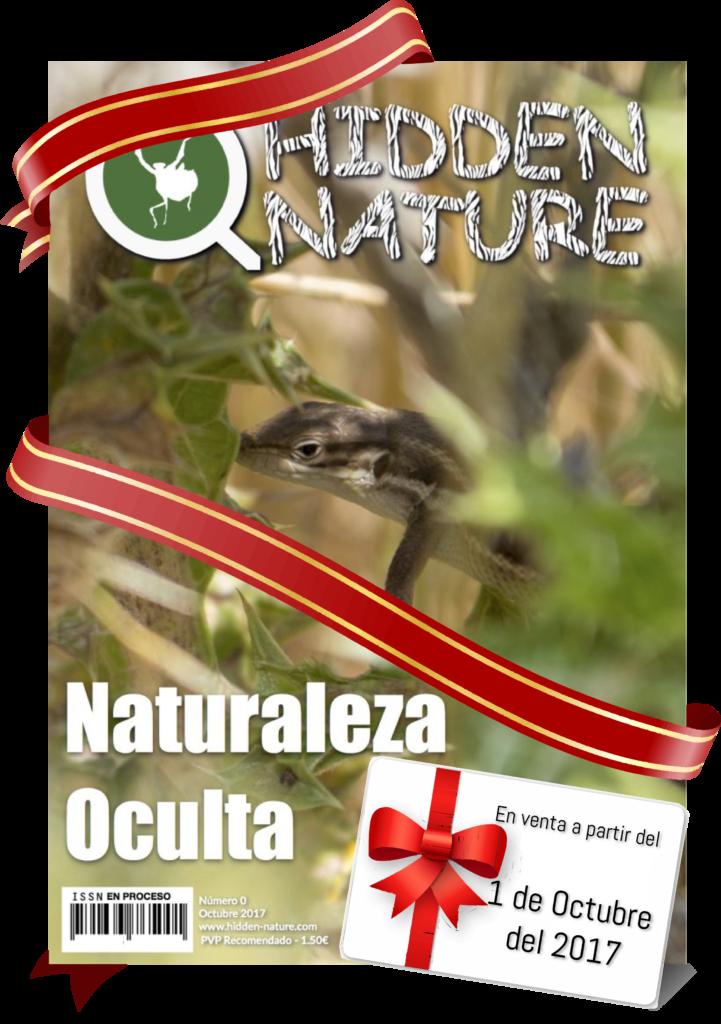 Aquí puedes ver la portada de nuestro futuro número 0 de Hidden Nature.