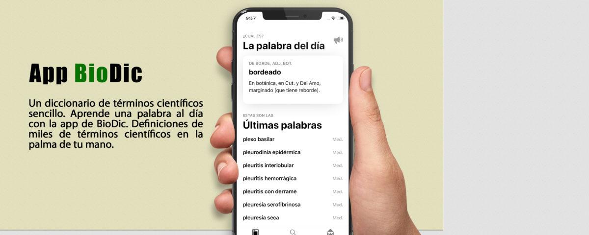 Descarga la App de BioDic