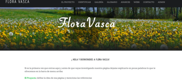 Flora País Vasco - Proyecto Flora Vasca